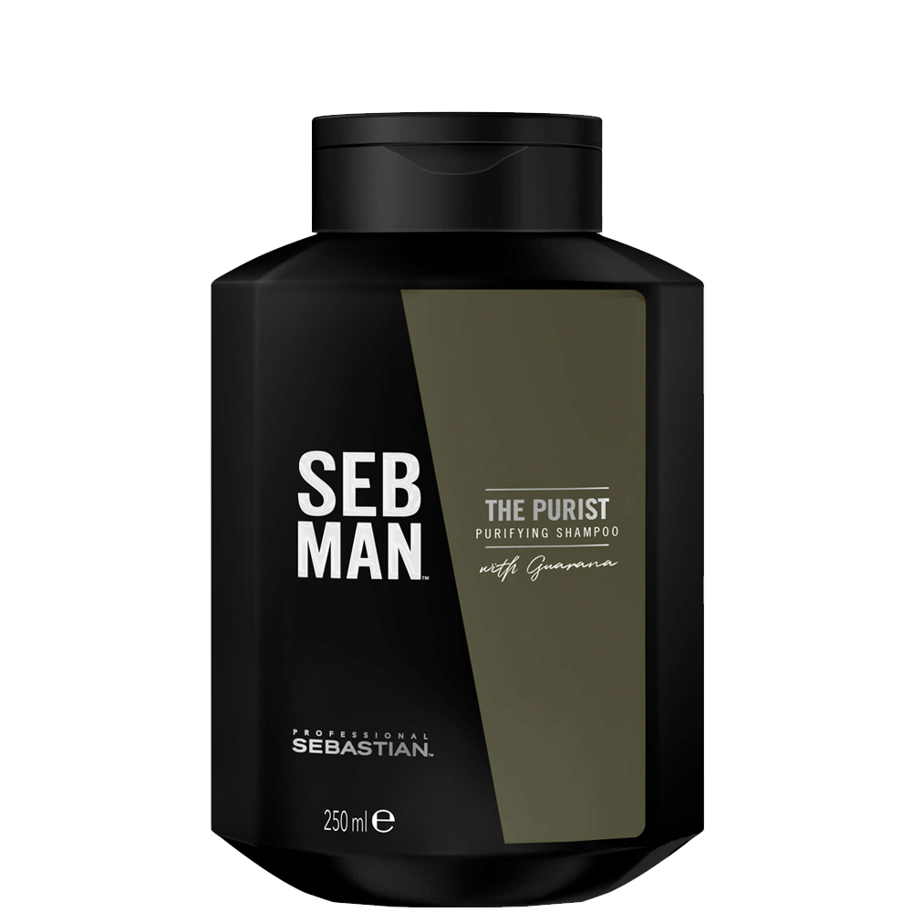Sebastian Men Очищающий Шампунь для Волос The Purist, 250 мл seb man the purist purifying shampoo