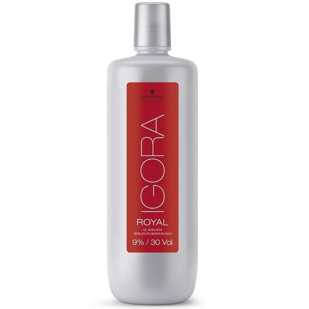 Schwarzkopf Igora Royal Лосьон-окислитель 9%, 1000 мл schwarzkopf professional sp igora royal лосьон окислитель для волос 3 6 9 12% sp igora royal лосьон окислитель 6% 60 мл