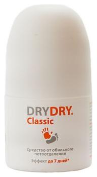Dry Dry Дезодорант-Антиперспирант от Обильного Потоотделения Классик Ролл-Онн, 35 мл