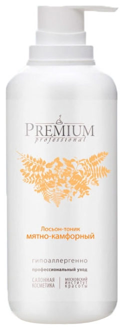 цена на PREMIUM Лосьон-Тоник Professional Мятно-Камфорный, 400 мл