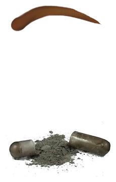 Godefroy Синтетическая Краска-Хна в Капсулах для Бровей (Светло-Коричневый) Eyebrow Tint Light Brown, набор 4 капсулы