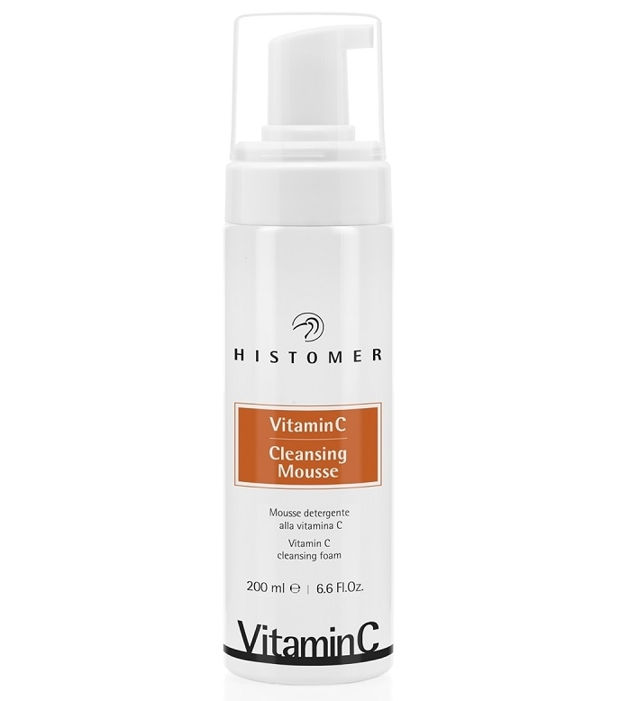 Histomer Мусс Очищающий  Витамин С Vitamin C Cleansing Mousse, 200 мл 100g vitamin c powder
