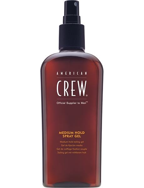 купить American Crew Спрей-Гель Сред. Фиксации Classic Medium Hold Spray Gel, 250 мл онлайн