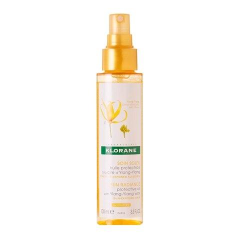 Klorane Масло Huile Protectrice à la cire d'Ylang-Ylang Солнцезащитное для Волос с Воском Иланг-Иланг, 100 мл несмываемое масло для волос