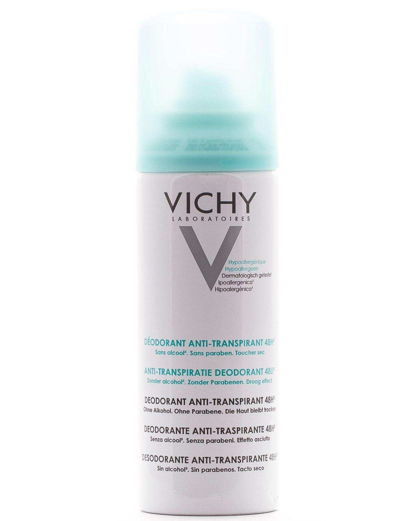 VICHY Дезодорант-Аэрозоль Регулирующий, 125 мл