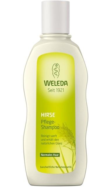 WELEDA Шампунь - Уход для Волос с Экстрактом Просо, 190 мл