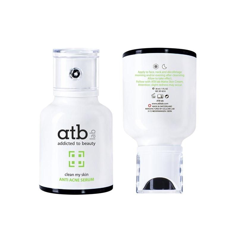 ATB Lab Сыворотка Anti Acne Serum Анти-Акне, 30 мл atb lab сыворотка успокаивающая 30 мл