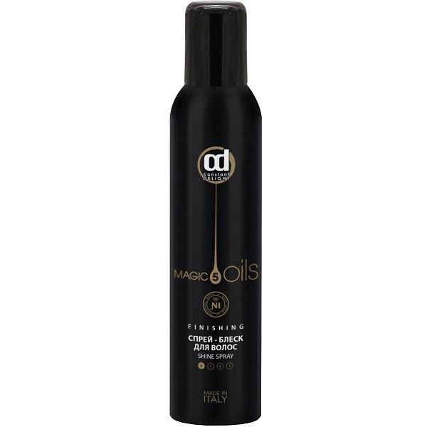 цена на Constant Delight Спрей-Блеск 5 Magic Oil Finishing для Волос 5 Масел, 200 мл