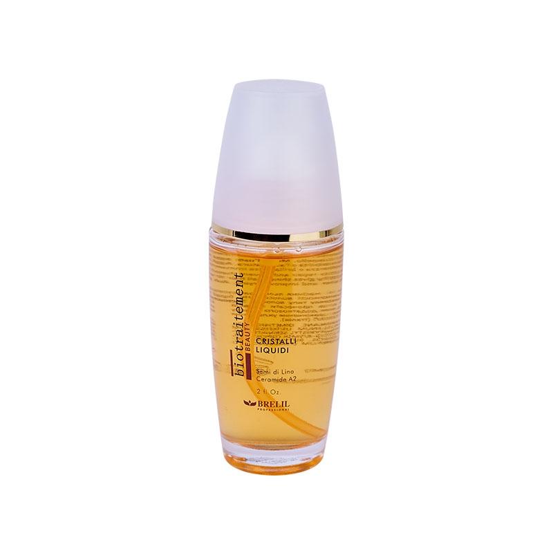 Brelil Professional Блеск BIO-traitement Cristalli Liquidi для волос Жидкие кристаллы, 60 мл