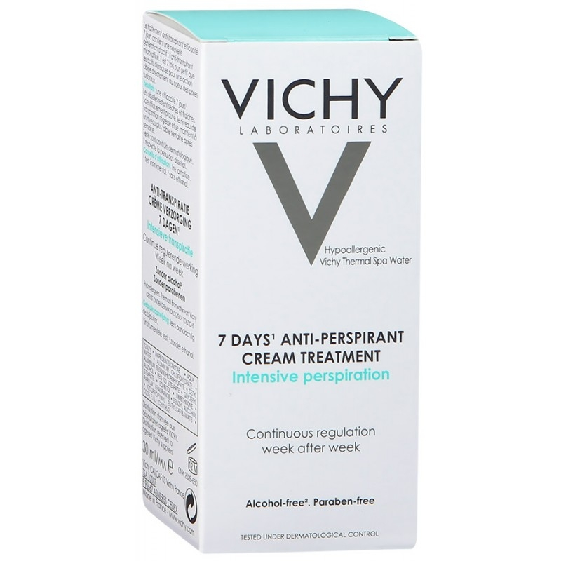 VICHY Дезодарант-Крем 7 Дней Регулирующий, 30 мл
