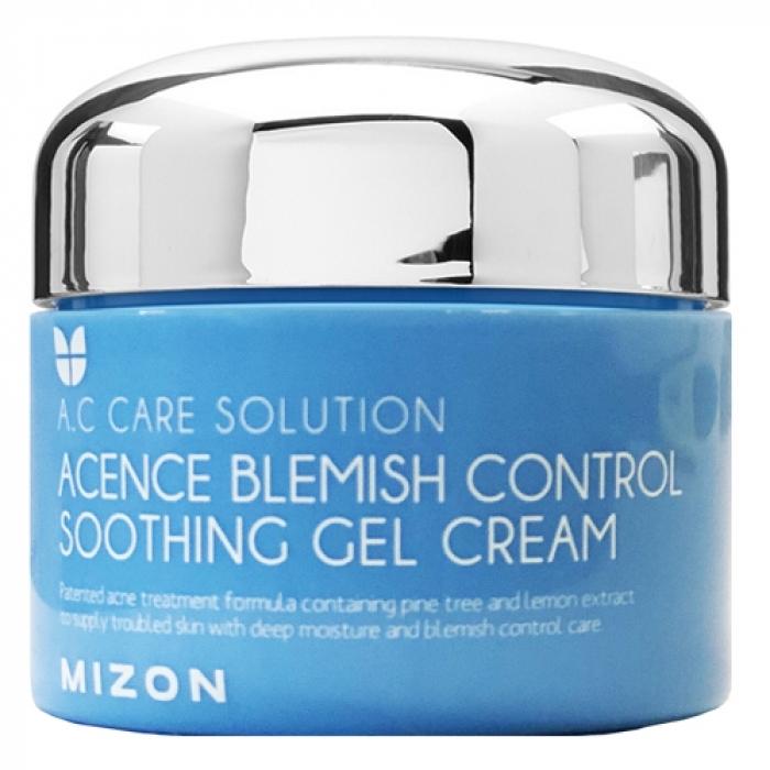 MIZON Гель-Крем Acence Blemish Control Soothing Gel Cream Комплексный для Проблемной Кожи Лица, 50 мл