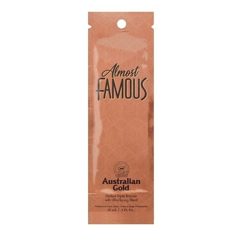 Australian Gold Ультра-Тонизирующий Крем для Загара с Эффектом Комплексного Бронзирования Almost Famous, 15 мл цена
