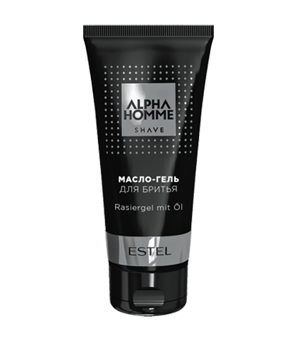 ESTEL Масло-Гель Alpha Homme для Бритья, 100 мл гель крем для лица alpha homme genwood hydro 50мл