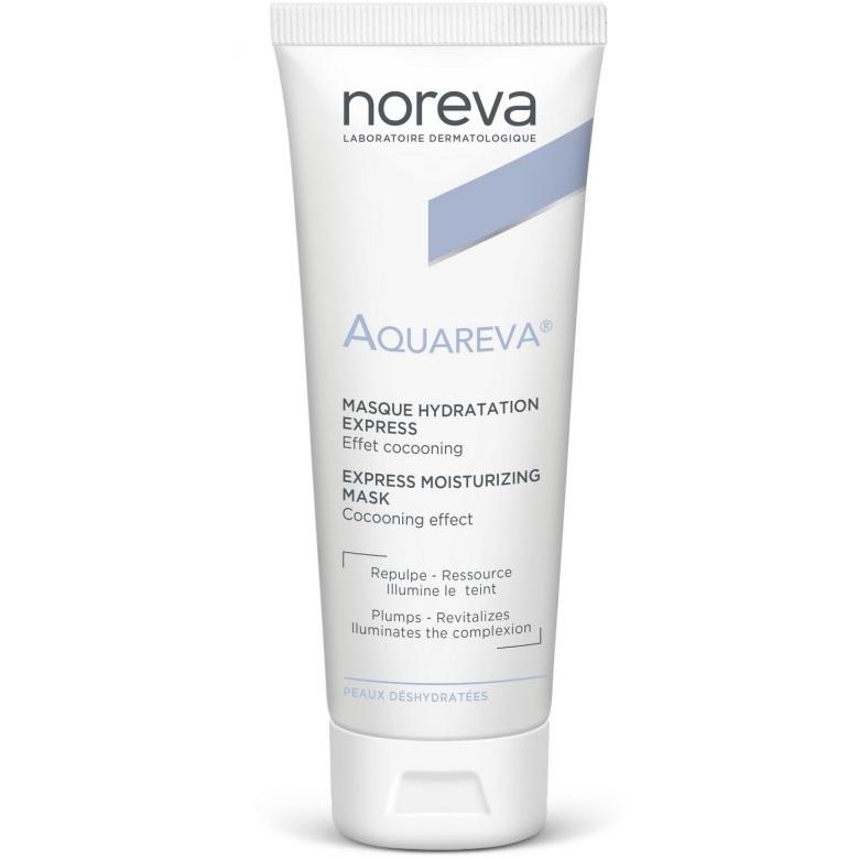 Noreva Экспресс-Маска Aquareva Увлажняющая, 50 мл ночная маска для лица uriage 50 мл увлажняющая