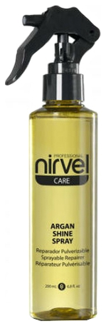 Nirvel Professional Спрей-Блеск Argan Shine Sprey с Маслом Арганы, 200 мл loreal professional volumetry спрей