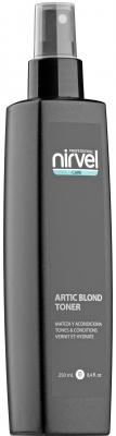 Nirvel Professional Спрей-Кондиционер Artic Blond Toner Тонер для Холодных Оттенков Блонд, 250 мл