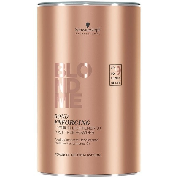Schwarzkopf Бондинг-Порошок Blondme Bond Enforcing Premium Clay Lightener Глиняный БлондМи, 350г