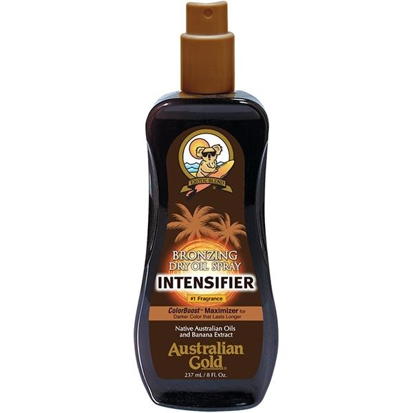 Аustralian Gold Сухое Масло-Спрей с Бронзаторами для Загара на Солнце Bronzing Dry Oil Spray, 237 мл