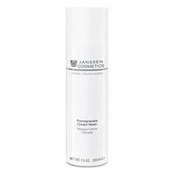 Janssen Омолаживающая Крем-Маска с Экстрактом Граната и Витамином C Pomegranate Cream Mask, 200 мл цена