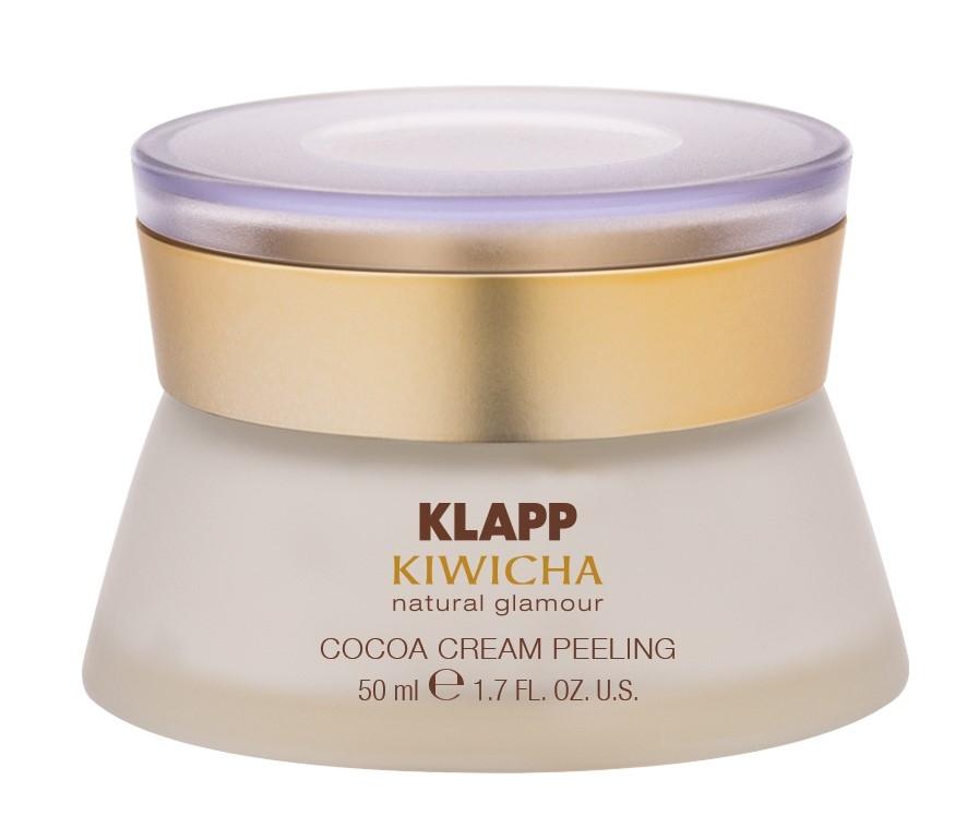 Klapp Крем-Пилинг Cocoa Cream Peeling с Гранулами Какао-Бобов, 50 мл пилинг тегодер