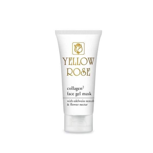 Yellow Rose Гель-Маска Collagen2 Face GelMask с Коллагеном, 50 мл