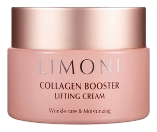 Limoni Крем-Лифтинг Collagen Booster Lifting Cream для Лица с Коллагеном, 50 мл limoni крем лифтинг collagen booster lifting eye cream для глаз с коллагеном укрепляющий 25 мл
