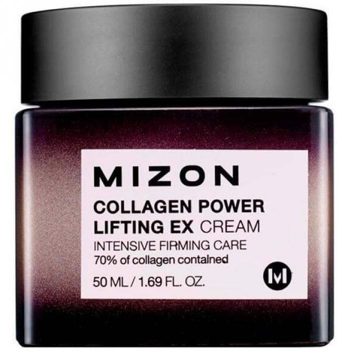 MIZON Лифтинг-Крем Collagen Power Lifting EX Cream для Кожи Лица с Коллагеном, 50 мл