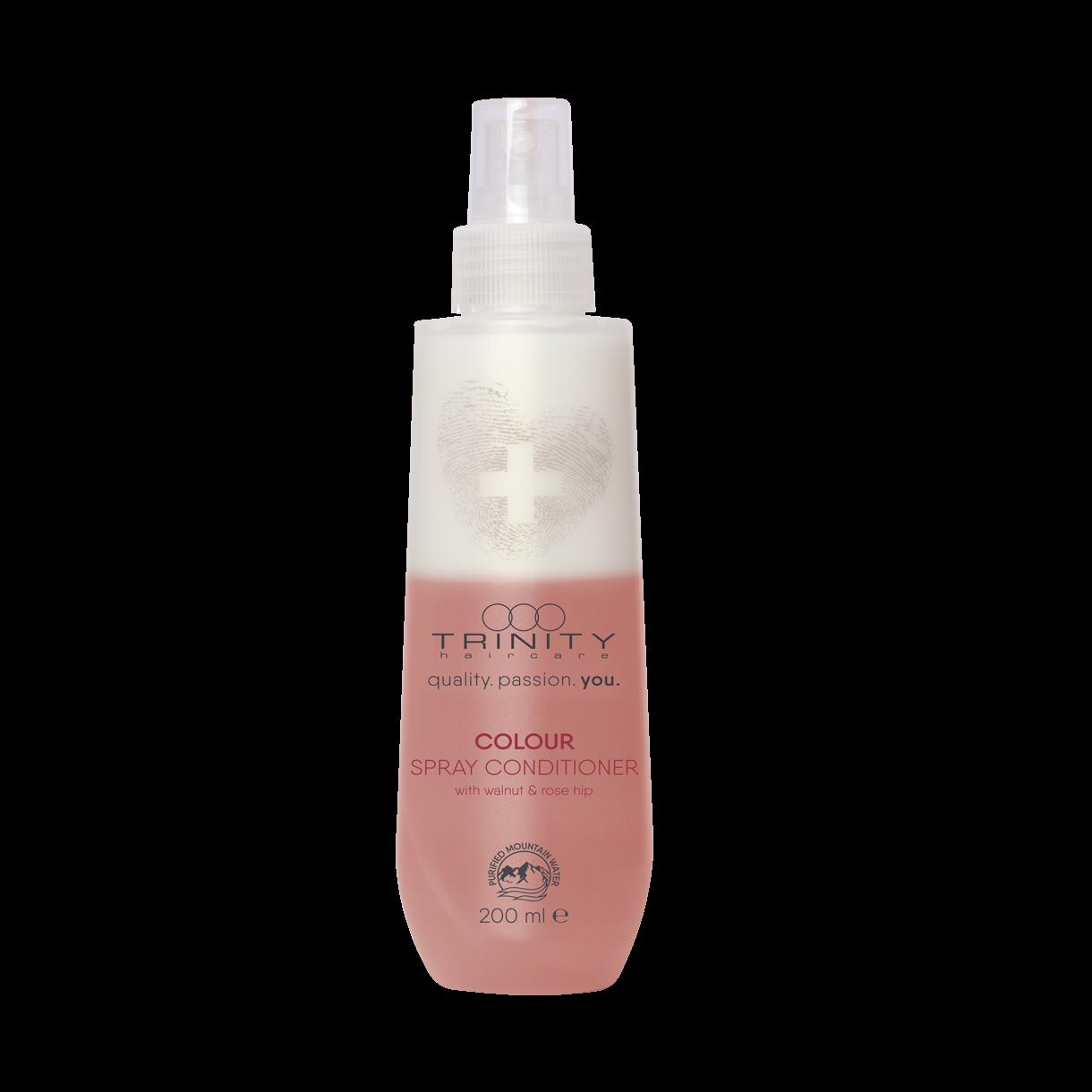 Фото - Trinity Hair Care Спрей-Кондиционер Essentials Colour Spray Conditioner для Окрашенных Волос, 200 мл trinity hair care маска essentials summer mask с уф фильтром 200 мл