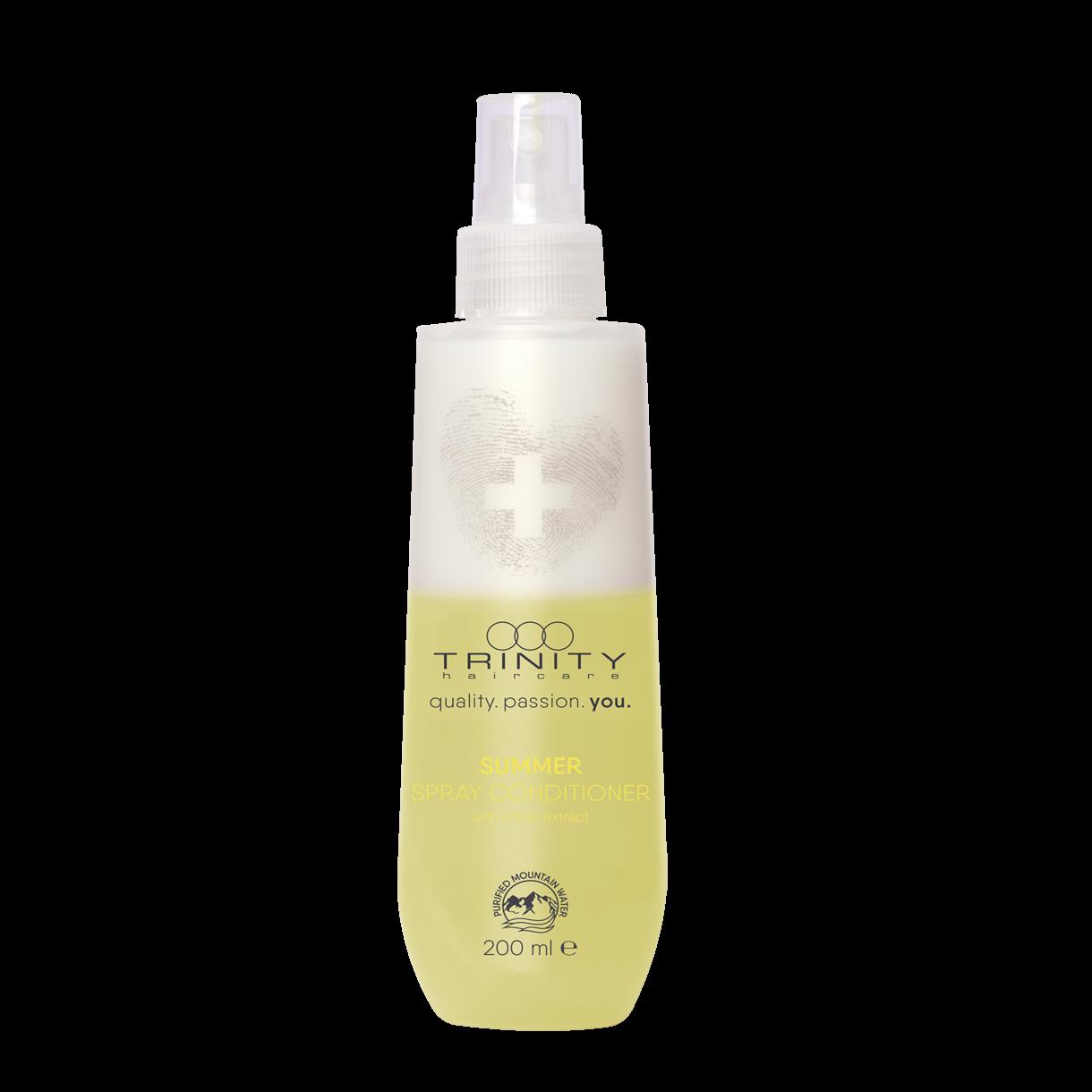 Trinity Hair Care Спрей-Кондиционер Essentials Summer Spray Conditioner с УФ Фильтром Защитный, 200 мл