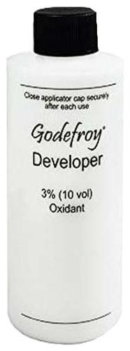 Godefroy Проявляющая Эмульсия для Краски-Хны Eyebrow Tint Activator, 125 мл depilflax увлажняющая эмульсия спрей 125 мл увлажняющая эмульсия спрей 125 мл 125 мл