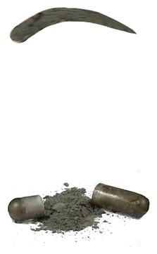 Godefroy Синтетическая Краска-Хна в Капсулах для Бровей (Графит) Eyebrow Tint Graphite, набор 4 капсулы