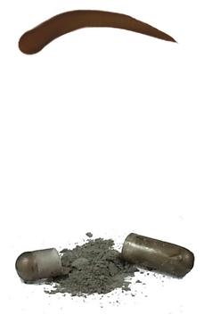 Godefroy Синтетическая Краска-Хна в Капсулах для Бровей (Коричневый) Eyebrow Tint Medium Brown, набор 15 капсул