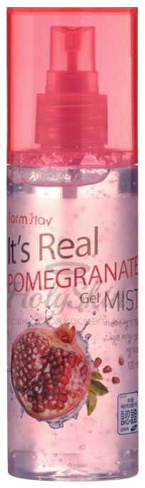 FarmStay Гель-Спрей It's Real Pomegranate Gel Mist для Лица с Экстрактом Граната, 120 мл