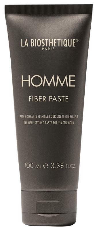 La Biosthetique Паста-Тянучка Fiber Paste Моделирующая для Волос с Атласным Блеском, 100 мл
