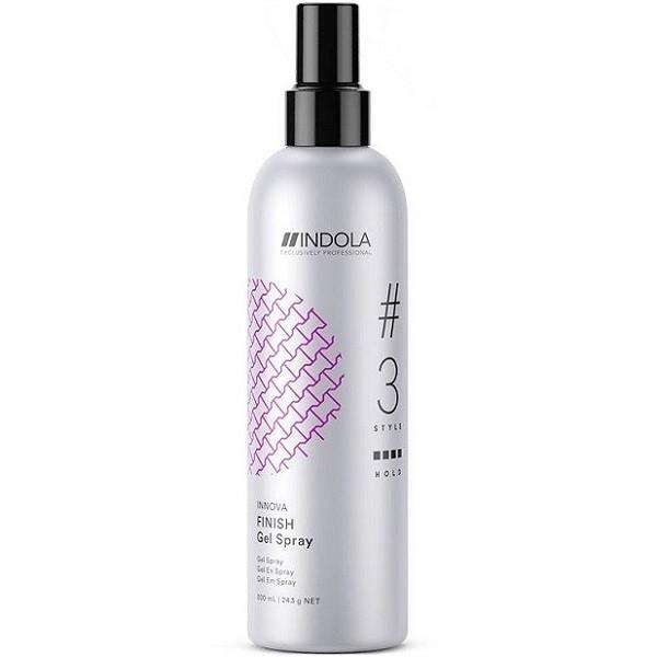 INDOLA PROFESSIONAL Гель-Спрей Finish Gel Spray для Волос, 300 мл australian gold спрей гель spf 15 spray gel bronzer 237 мл