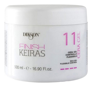 Dikson Воск-Гель Finish Keiras 11 Cera Gel для Волос, 500 мл