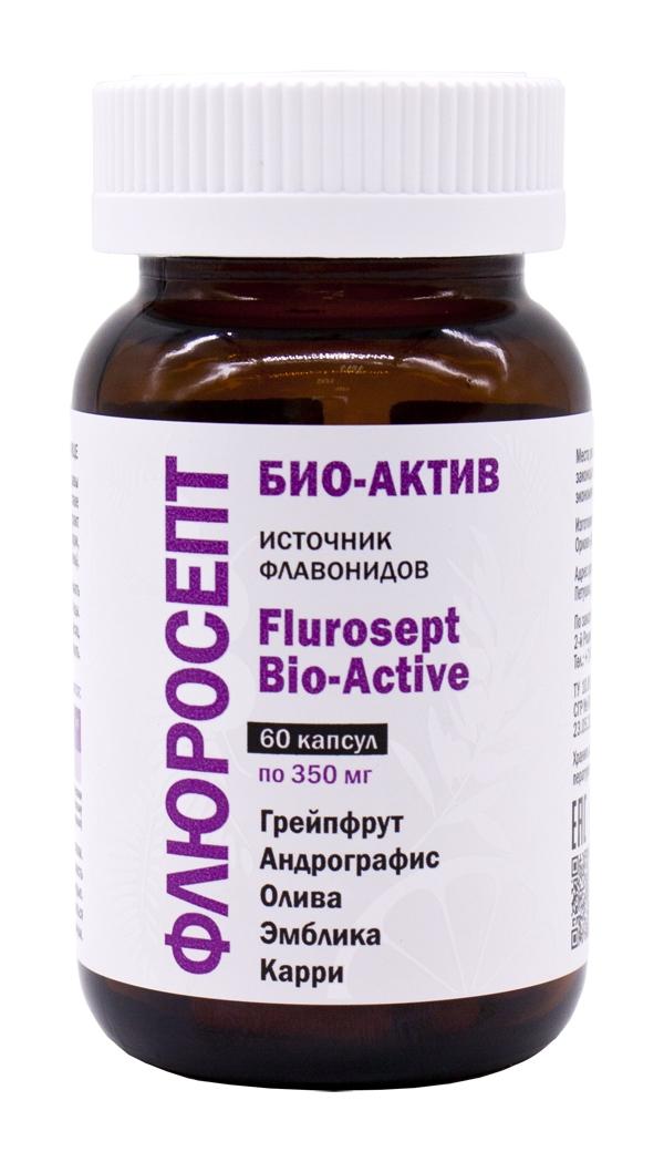 Pleyana Флюросепт Био-Актив (Flurosept Bio-Active), 60 капсул недорого