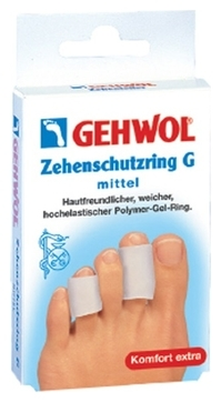 GEHWOL Гель-Кольцо G на Палец, Мини, 18мм, 12 шт gehwol g кольцо на палец среднее 30 мм 12 шт