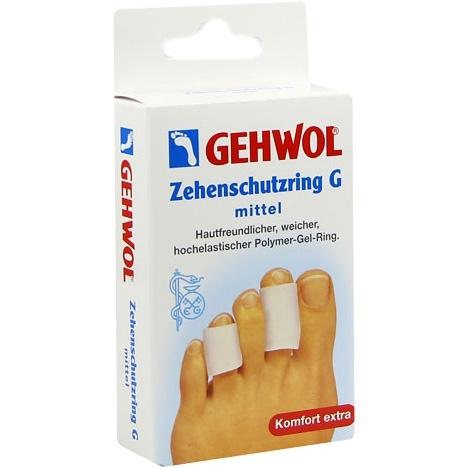 GEHWOL Гель-кольцо G, мини, 18 мм, 2 шт gehwol g кольцо на палец среднее 30 мм 12 шт