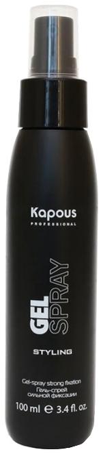 купить Kapous Гель-Спрей для Волос Сильной Фиксации Gel Strong, 100 мл онлайн