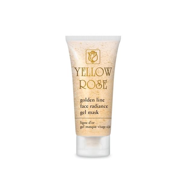 Yellow Rose Гель-Маска Golden Line Face Radiance GelMask  с Золотом для Всех Типов Кожи, 50 мл белита экспресс маска гель для лица для всех типов кожи активное насыщение влагой 100 мл