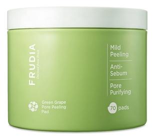 Frudia Пилинг-Диски Green Grape Pore Clear Peeling Pad для Лица с Зеленым Виноградом, 70 шт
