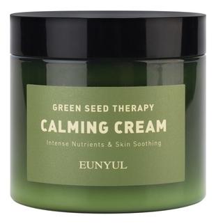 Eunyul Крем-Гель Green Seed Therapy Calming Cream Успокаивающий для Лица с Экстрактами Зеленых Плодов, 270г chi luxury black seed oil curl defining cream gel