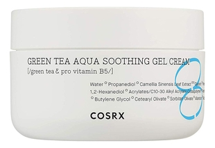 Cosrx Гель-Крем Hydrium Green Tea Aqua Soothing Gel Cream с Зелёным Чаем, 50 мл chi luxury black seed oil curl defining cream gel