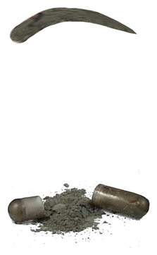 Godefroy Синтетическая Краска-Хна в Капсулах для Бровей (Графит) (L) Tint Kit Graphite, 80 капсул