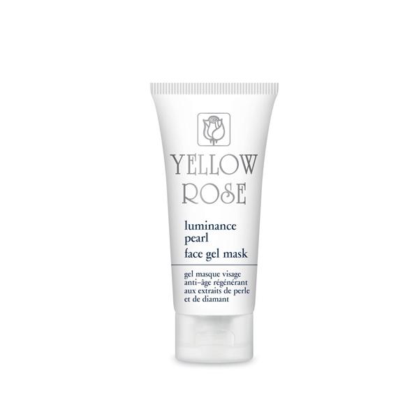 Yellow Rose Гель-Маска Luminance Pearl Face GelMask с Жемчугом для Всех Типов Кожи, 50 мл белита экспресс маска гель для лица для всех типов кожи активное насыщение влагой 100 мл