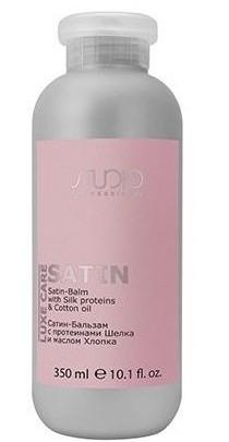 Kapous Сатин-Бальзам с Протеинами Шелка и Маслом Хлопка Luxe Care, 350 мл