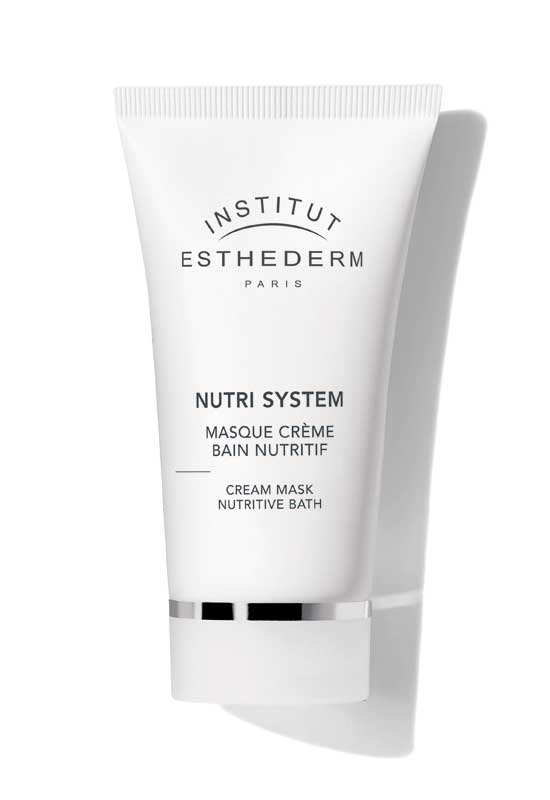 Institut Esthederm Маска-Крем Masque Crème Bain Nutritif Питательная Баня, 75 мл
