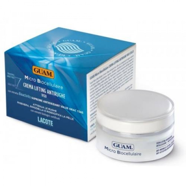 GUAM Крем-лифтинг Micro Biocellulaire против морщин, 50 мл guam крем micro biocellulaire для проблемной кожи 50 мл