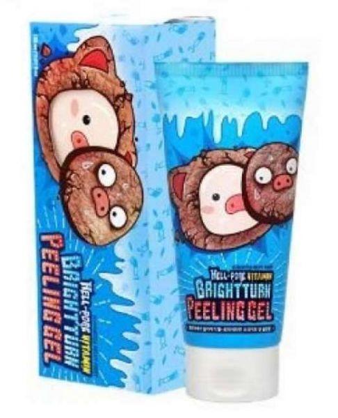 Elizavecca Гель-Пилинг Milky Piggy Hell-Pore Vitamin Brightturn Peeling Gel Витаминизированный для Лица, 150 мл пилинг ретиноевый